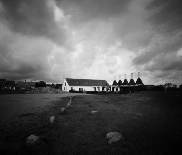 Smokehouse, Svaneke, Bornholm, pinhole image