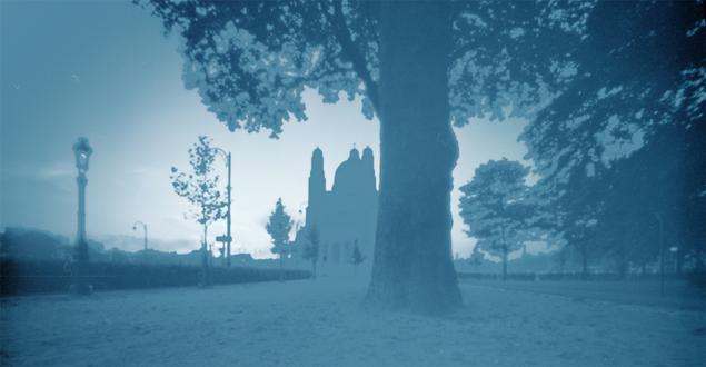 Parc Elisabeth, pinhole image