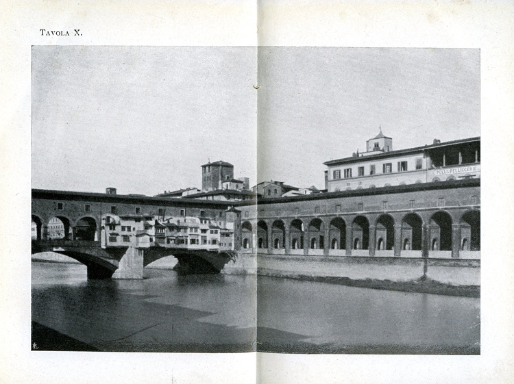 Ponte vecchio, pinhole photo