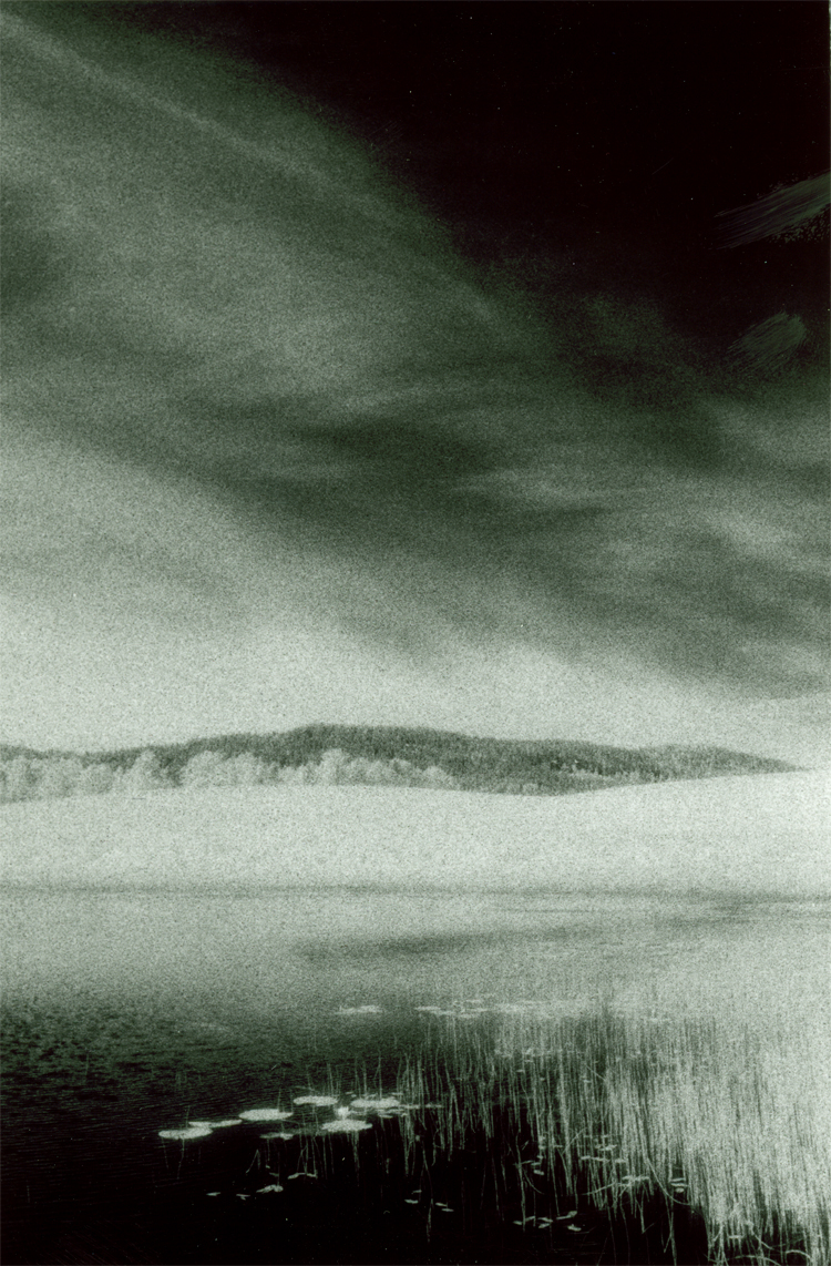 Bogstad, Infrared photograph