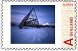 Lofoten, pinhole stamp