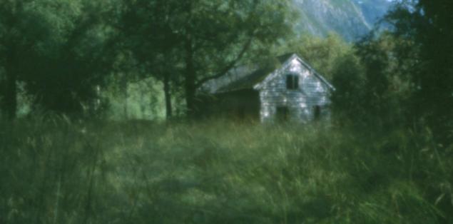 Old House, Stardalen, Jølster, pinhole image