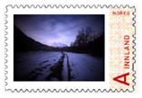 Stardalen, pinhole stamp